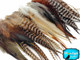 Natural Medium Length Rooster Hair Extension Wholesale Feathers (Bulk)