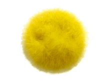 2 Yards - Yellow Turkey Medium Weight Marabou Feather Boa 25 Gram