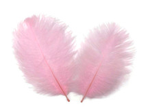 1 Pack - Light Pink Ostrich Small Confetti Feathers 0.3 Oz