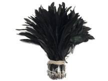 Iridescent dark colored craft feathers wholesale