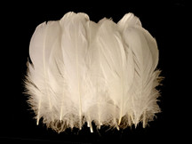 1 Pack - Ivory Goose Nagoire Loose Feather - 0.25 Oz.