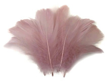 "1/4 Lb - 2-3"" Taupe Goose Coquille Loose Wholesale Feathers (Bulk)"