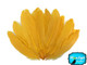 Golden Yellow Goose Satinettes Wholesale Loose Feathers (Bulk)