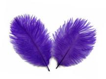 1 Pack - Purple Ostrich Small Confetti Feathers 0.3 Oz