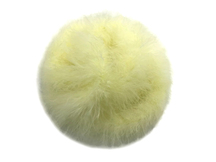 2 Yards - Pale Yellow Turkey Medium Weight Marabou Feather Boa 25 Gram