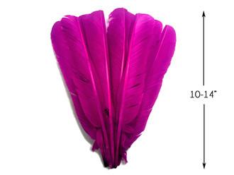 Turkey Feathers Purple Turkey Feathers 1//4 Pound
