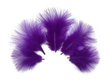 1/4 Lb - Purple Turkey Marabou Short Down Fluffy Loose Wholesale Feathers (Bulk)