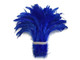 Bright blue dyed soft rooster tail feathers