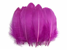1 Pack - Magenta Goose Nagoire Loose Feather - 0.25 Oz