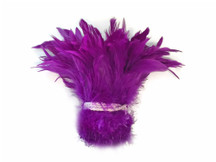Violet feathers for crafts, weddings, decor, and decoration.