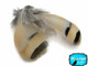 Gray and Brown Partridge Hen Feathers for jewelry rare