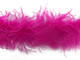 2 Yards - Hot Pink 2 Ply Ostrich Feather Boa 2 Ply wispy fluffy soft for costumes, weddings, and decoration