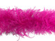 1 Piece - Hot Pink Ostrich Feather Boa 3 Ply fluffy wispy soft