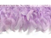 1 Yard – Lavender Chandelle Turkey Fluffy Feather Trim