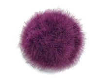 2 Yards - Plum Turkey Medium Weight Marabou Feather Boa 25 Gram