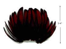 1 Dozen - Claret Whiting Farms BLW Laced Hen Cape Loose Feathers