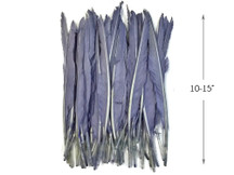10 Pieces - Lilac Gray Goose Pointers Long Primaries Wing Feathers