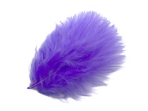 1 Pack - Lilac Turkey Marabou Short Down Fluff Loose Feathers 0.10 Oz.