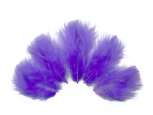 1/4 Lb - Lilac Turkey Marabou Short Down Fluffy Loose Wholesale Feathers (Bulk)