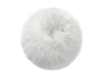 2 Yards - Snow White Turkey Medium Weight Marabou Feather Boa 25 Gram