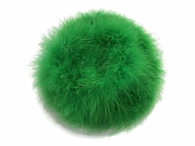 2 Yards - Kelly Green Turkey Medium Weight Marabou Feather Boa 25 Gram