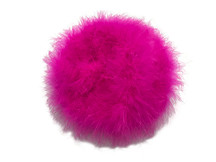 2 Yards - Hot Pink Turkey Medium Weight Marabou Feather Boa 25 Gram