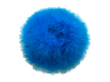2 Yards - Turquoise Blue Turkey Medium Weight Marabou Feather Boa 25 Gram