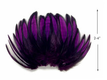 1 Dozen - Purple Whiting Farms BLW Laced Hen Cape Loose Feathers