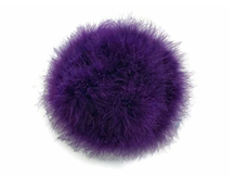 2 Yards - Purple Turkey Medium Weight Marabou Feather Boa 25 Gram