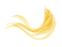 1 Dozen - Medium Solid Blonde Rooster Saddle Whiting Hair Extension Feathers