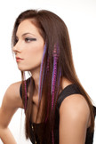 Candylane Style Feather Extension Clips For Hair