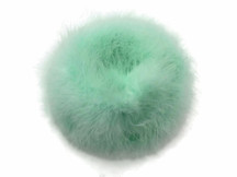 2 Yards - Fresh Mint Turkey Medium Weight Marabou Feather Boa 25 Gram