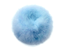 2 Yards - Light Blue Turkey Medium Weight Marabou Feather Boa 25 Gram
