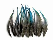 1 Dozen - Short Twilight Blendz Whiting Farm Rooster Hair Extension Feathers