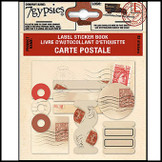 7 Gypsies | Label Stickers Book Vintage Scrapbook Craft Sheet : Carte Postale