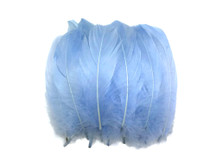 1 Pack - Light Blue Goose Nagoire Loose Feather - 0.25 Oz.