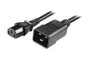 2M IEC C13 to C20 Power Cable