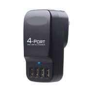 Smart USB 4 Port Charger 34W 6.8A ( In White )