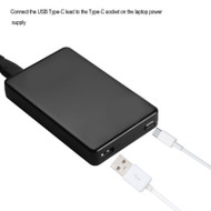 60W Universal Type-C Laptop Power Supply/Charger ( Black )