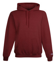 Maroon Heather Front Champion S700 Powerblend Eco Fleece Hoodie | Athleticwear.ca