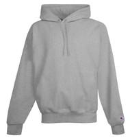 Oxford Gray Front Champion S101 Reverse Weave Fleece Hoodie | Athleticwear.ca