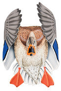 Mallard Hen #4 PVC Garage Duck