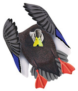 Black Duck Drake #2 PVC Garage Duck