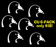 Coots Unlimited Logo 6 Pack