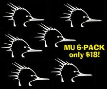 Mergansers Unlimited Logo 6-Pack