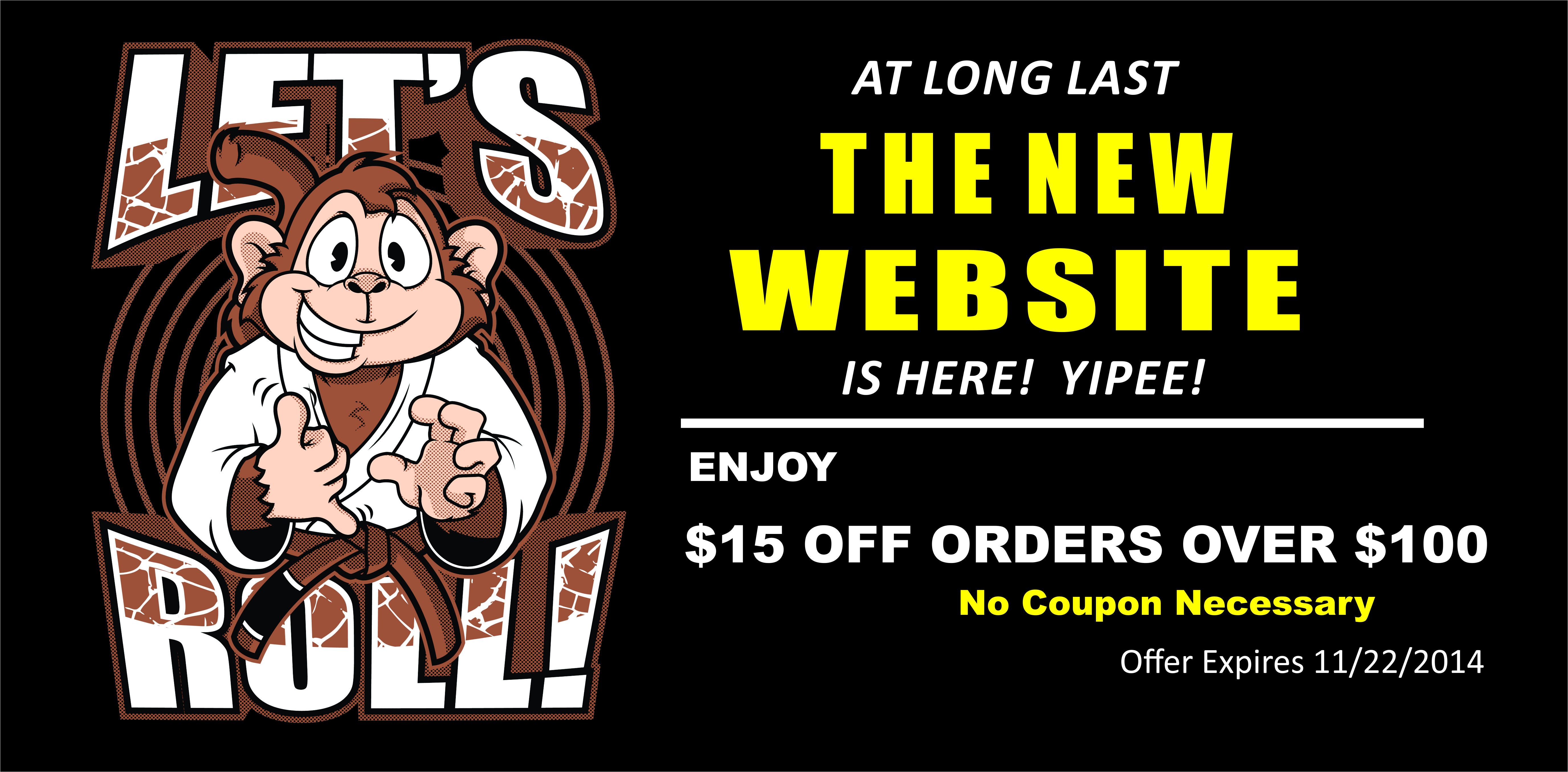 The Jiu Jitsu Shop Launch Sale