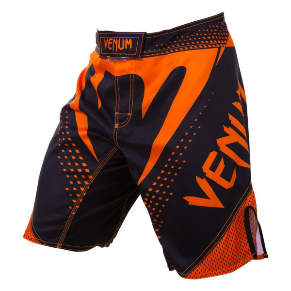 Venum Hurricane Fight Shorts now available at www.thejiujitsushop.com Bring black and orange shorts to take on the world.   Enjoy Free Shipping from The Jiu Jitsu Shop today!