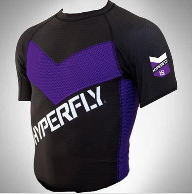 Do or Die purple Ranked rashguard short sleeve available at www.thejiujitsushop.com  Enjoy Free Shipping from The Jiu Jitsu Shop today!