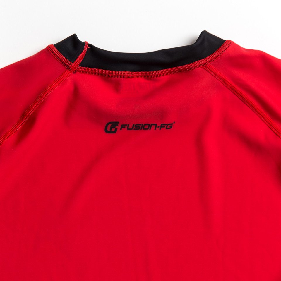 Officially licensed star trek apparel .  Classic Star trek red uniform.  www.thejiujitsushop.com  The Jiu Jitsu Shop