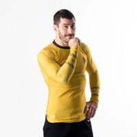 Fusion FG Star Trek Classic Uniform Rashguard - Gold an awesome homage to Captain James T Kirk himself.  Awesome rashguards from www.thejiujitsushop.com   Enjoy Free Shipping from The Jiu Jitsu Shop. Shop Star trek including blue and red uniforms